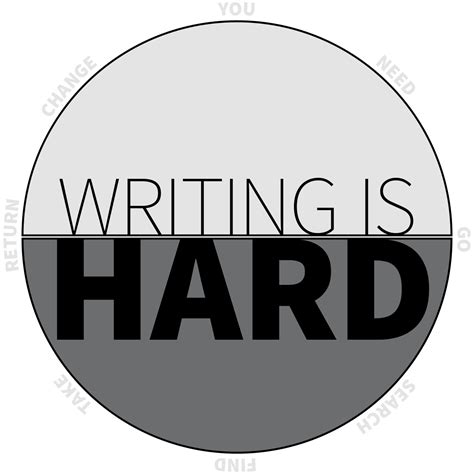 Writing Is Hard  Will Moyer