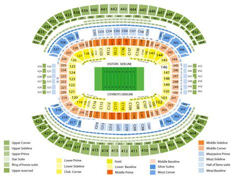seats  att stadium