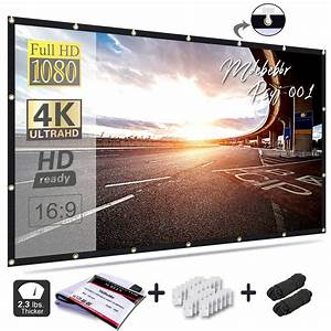 15 Best Outdoor Projector Screen In 2019  Review And
