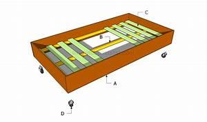 Woodwork Trundle Bed Frame Plans PDF Plans