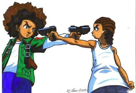 boondocks wallpaper huey  riley dazhew gallery