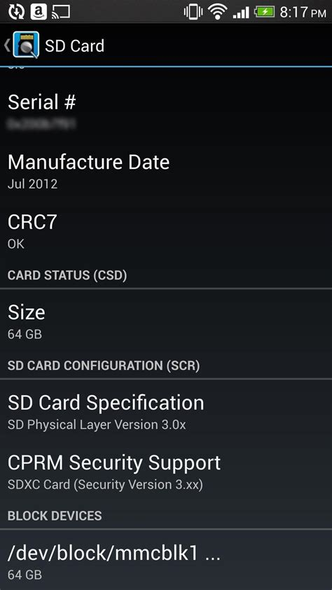 sd card legit heres   check android