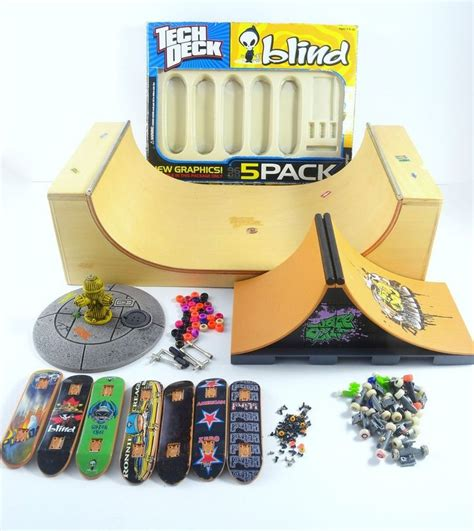 tech deck skateboard fingerboard 2 r 7 boards 1 radikal