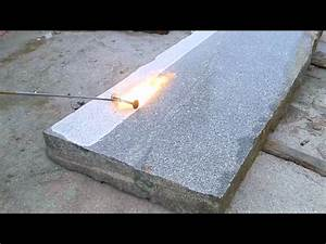 Granit Geflammt Gebürstet Unterschied : b m granity flammen von platten aus granit granit platten granit aus polen youtube ~ Orissabook.com Haus und Dekorationen