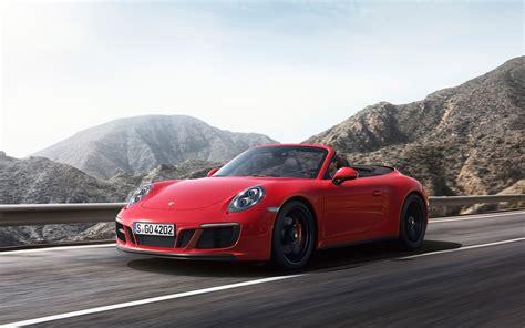 porsche 911 carrera gts 2017 porsche 911 gts carrera 4 gts cabriolet wallpapers
