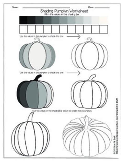 shading pumpkin worksheet by n stuff teachers pay