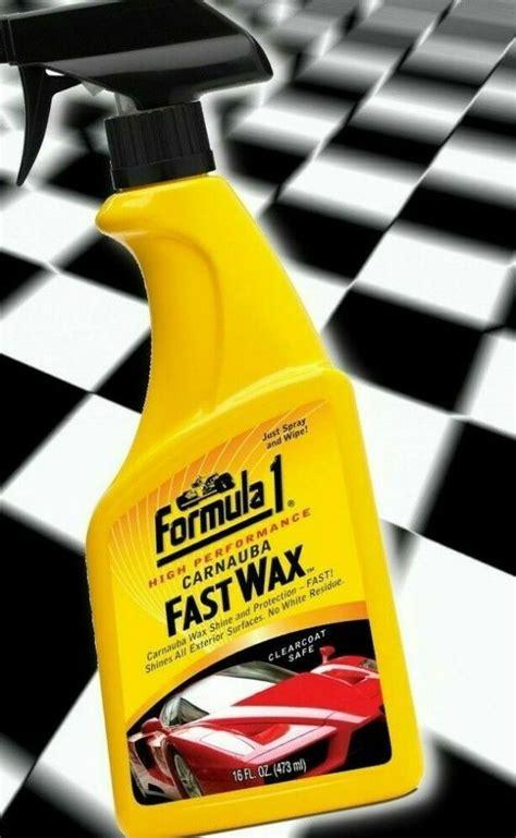 Formula 1 High Performance Carnauba Fast Wax 473ml Spray ...