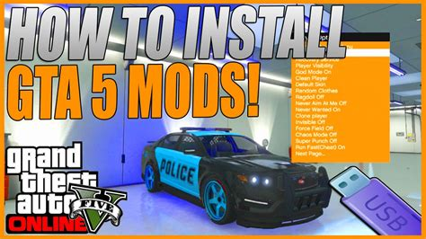 How To Get A Usb In Your Car by How To Install Gta 5 Mods With A Usb For Xbox 360 Quot After 1