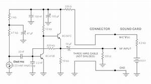 electronic schematic diagram wiring diagram circuit With microphone circuit