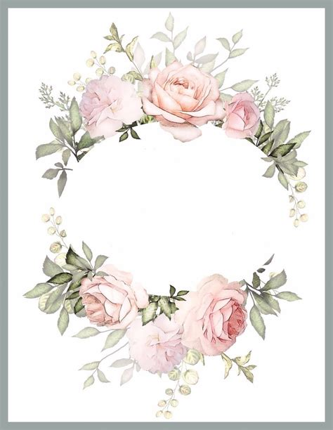 pin  mari ann  print ideas flower frame vintage