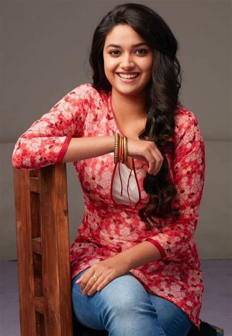 Keerthi Suresh With Black Dress Pictures To Pin On