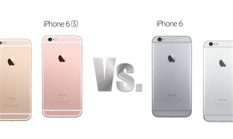 iphone 6 vs 6s iphone 6s vs iphone 6 what s new