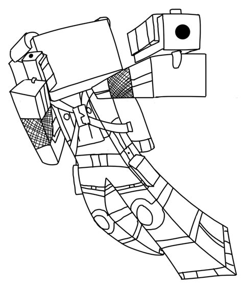 Coloring Skin by Minecraft Skins Coloring Pages Coloring Home