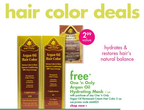 March Free Hair Color Deals!
