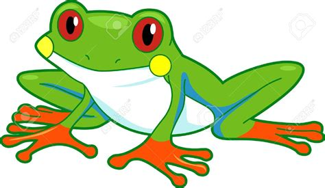 Frog Clip Green Tree Frog Clipart Clipground