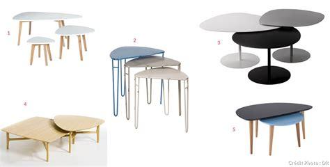 tables basses gigognes  partir de  maison creative
