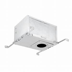 Recessed lighting loft insulation : Globe electric in aluminum recessed housing insulation