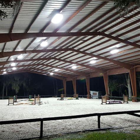 Led Arena Lights - high bay led arena lights ramm fencing stalls