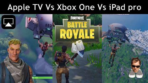 fortnite apple tv airplay  xbox   ipad pro split