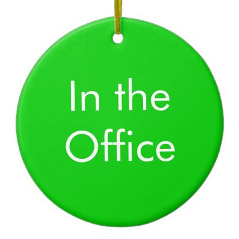 out of office in the office sign christmas tree