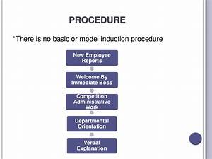 induction and orientation With induction procedure template