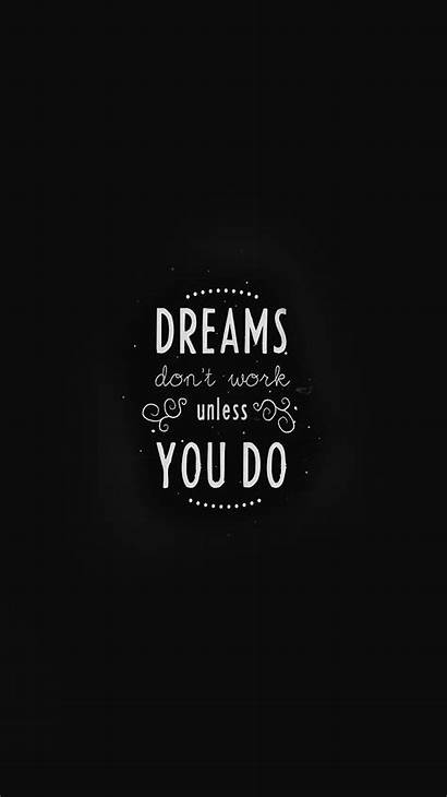 Iphone Quotes Wallpapers Quote Minimal Dont Dreams