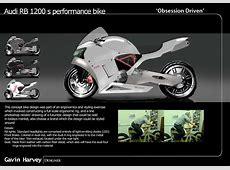 Audi Bike Render by Gavin Harvey at Coroflotcom