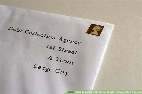 settlement   collection agency  steps