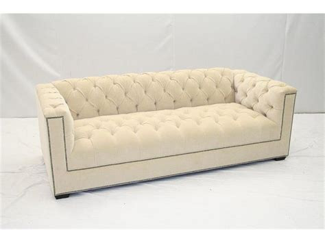old hickory tannery sofa old hickory tannery living room tufted sofa 7735 03