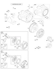 204412 Engine Diagram by Parts For Briggs Stratton 204412 0147 E1 Engine