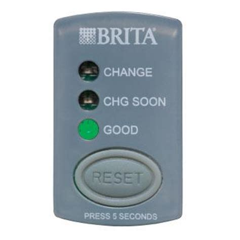 Brita Faucet Filter Replacement Indicator by Brita Grand Water Filter Pitcher White 10