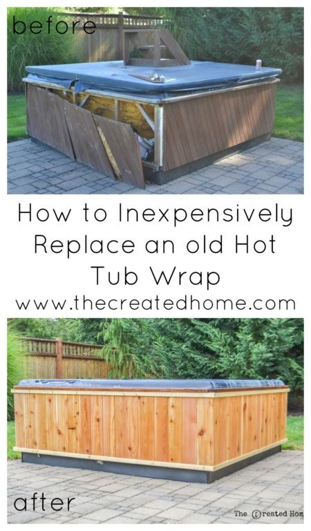repair  restore  hot tub  created home