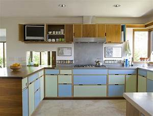 mid century kitchen design - TjiHome