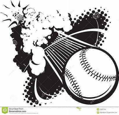 Baseball Sonic Boom Flying Breaking Sound Vector
