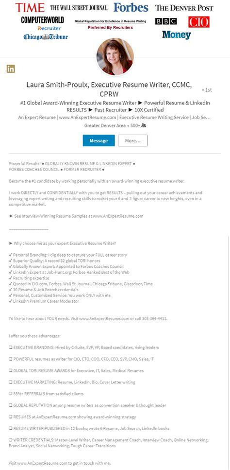 resume linkedin profile writer pattern model resume
