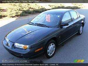 Black - 2001 Saturn S Series Sl1 Sedan
