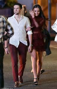 MKRu0026#39;s Zana Pali and Gianni Romano wear matching outfits for date night in Brisbane   Daily Mail ...