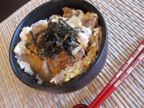 cuisine addict katsudon pork cutlet rice bowl recipe dishmaps