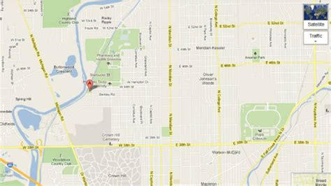Butler University Map Indianapolis