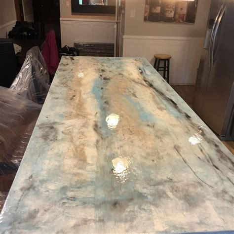 dont replace   outdated countertops refinish