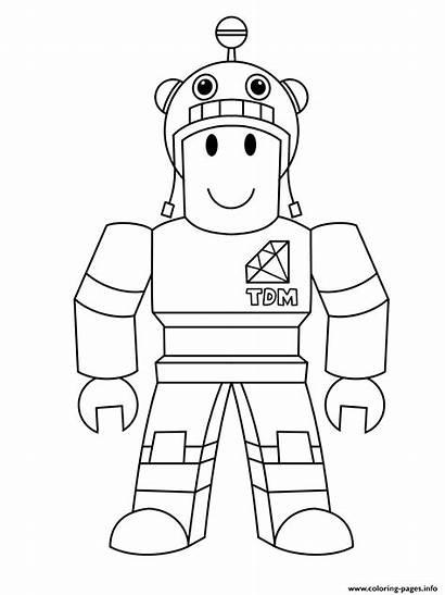 Coloring Roblox Printable Characters Kleurplaten Piggy Colorear