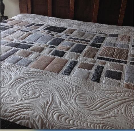 Contemporary Quilts And Coverlets by Quiltworks A Modern Quilt For My Bed