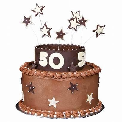 Birthday Cake 50th Designs Cakes Round Tiered