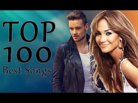 Top 100 Best Songs (20102016) Youtube