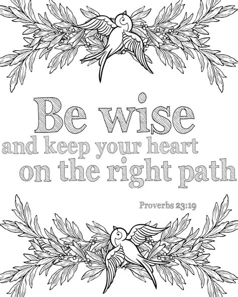 bible verse coloring pages instant