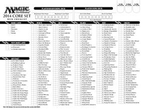 magic the gathering printable checklist go search for tips tricks cheats search