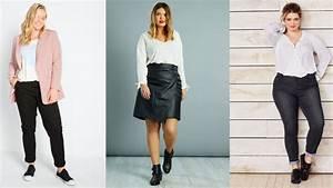 Look Femme Ronde 2017 : mode ronde 15 looks pour sublimer vos formes la mi saison femme actuelle le mag ~ Mglfilm.com Idées de Décoration