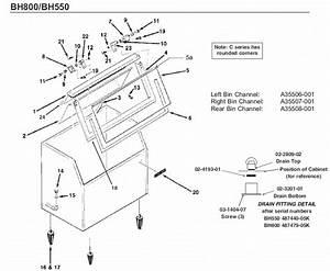 Scotsman Bh550 Bin Parts Diagram
