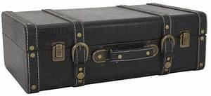 Valise En Bois : valise en bois et simi cuir vintage ~ Teatrodelosmanantiales.com Idées de Décoration