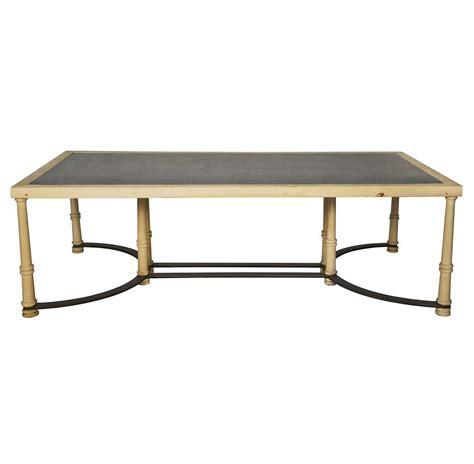 giles industrial loft slate stone wood coffee table